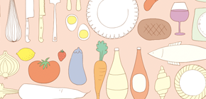 illustration kitchen