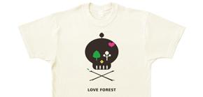 森と洋服プロジェクトTシャツ