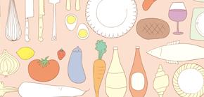 illustration kitchen